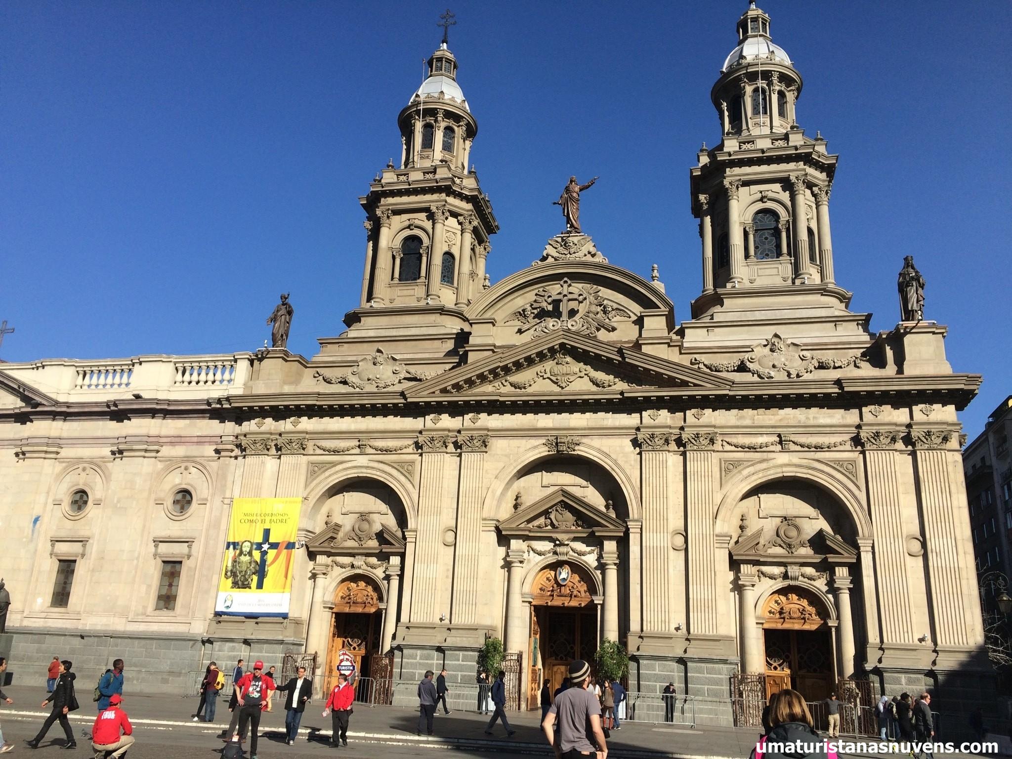 Catedral Metropolitana em Santiago do Chile