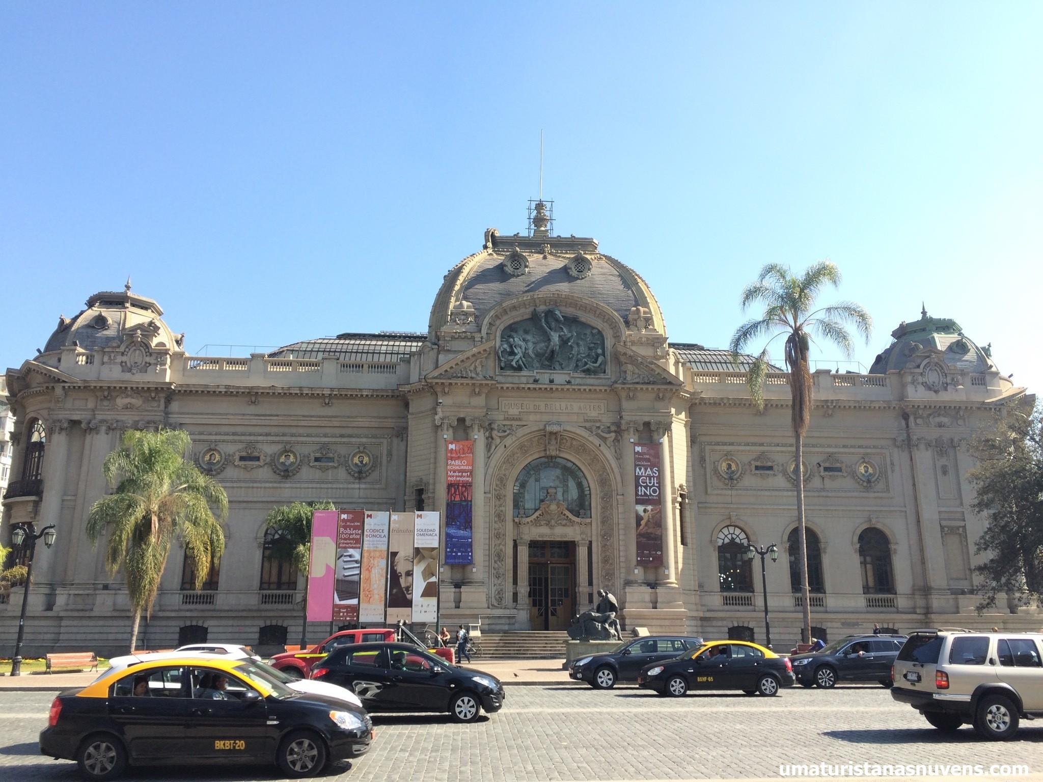 museu de belas artes em Santiago