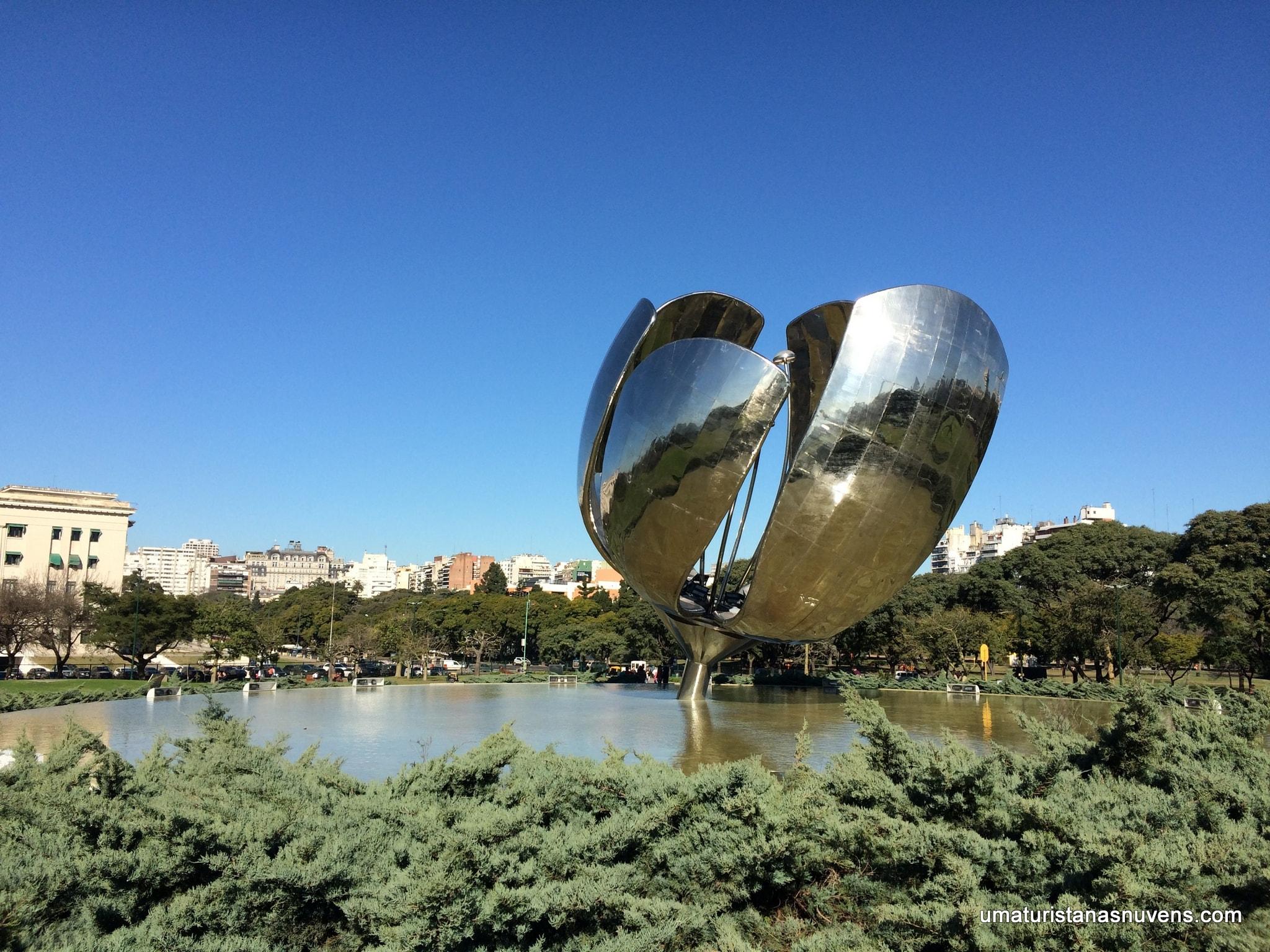 O que fazer no bairro Recoleta em Buenos Aires - flor metálica