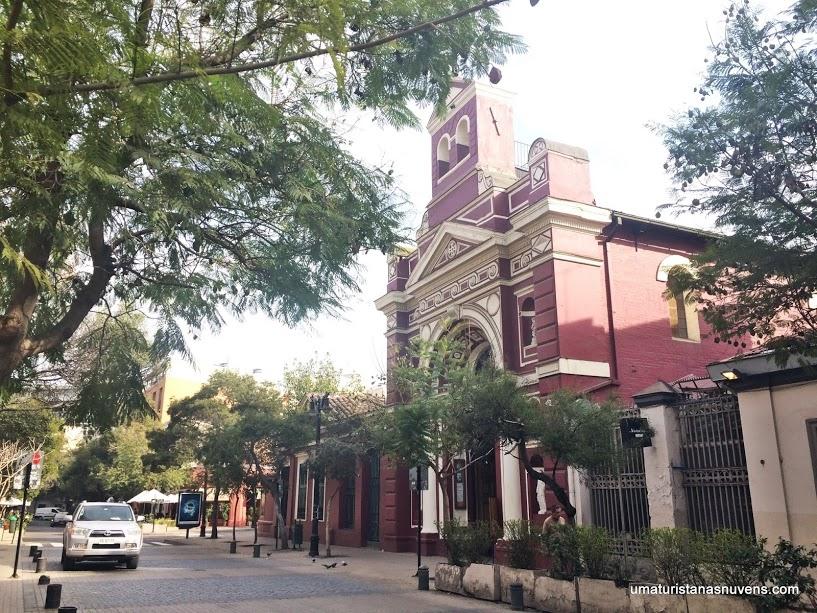Iglesia Vera Cruz em Santiago no Chile