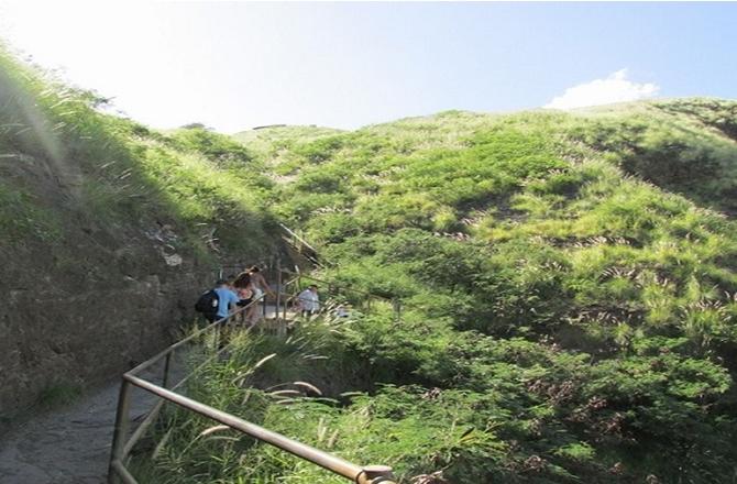 vulcão Diamond Head no Havaí
