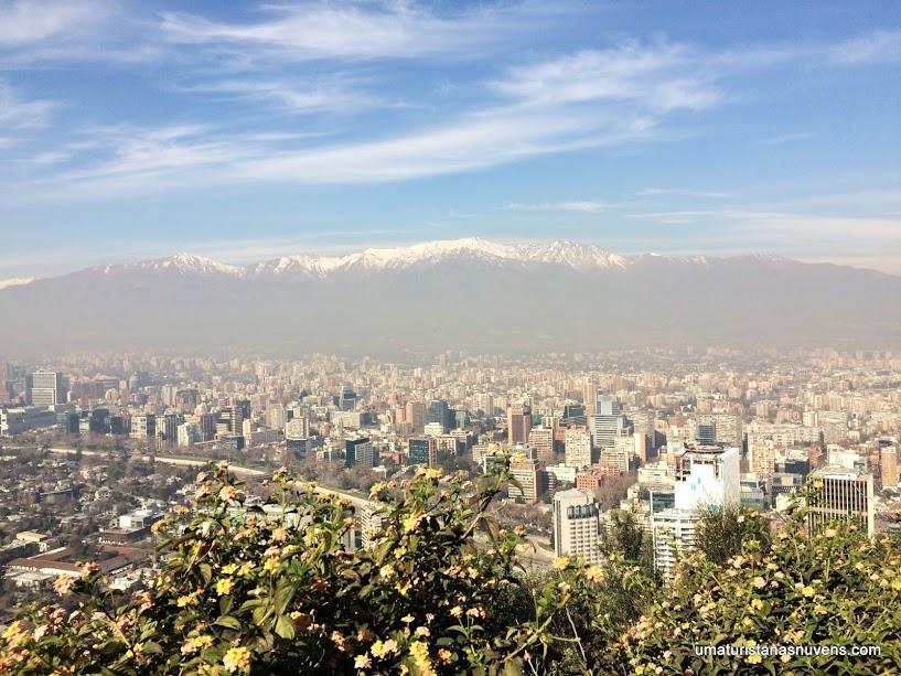 Cerro San Cristóbal em Santiago do Chile