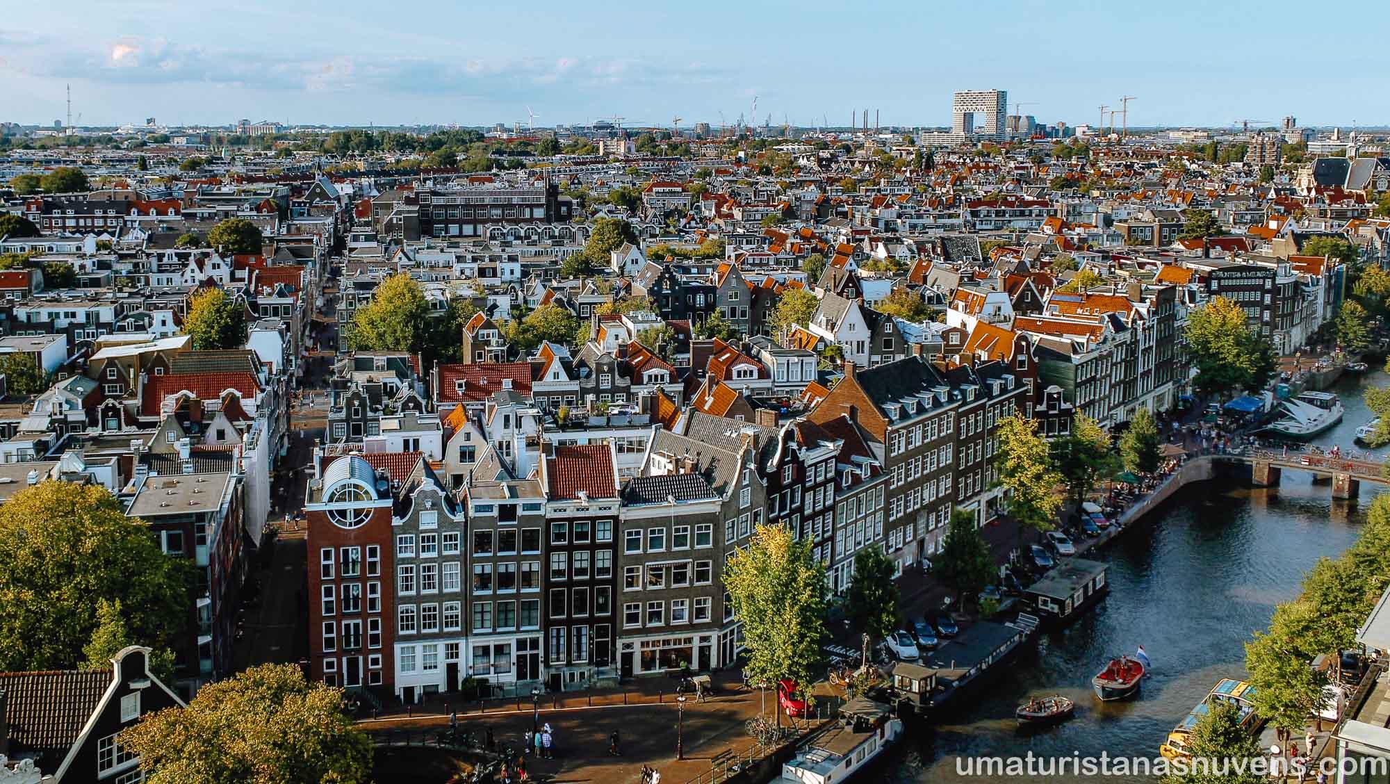 Onde ver Amsterdam do alto - Westerkerk -