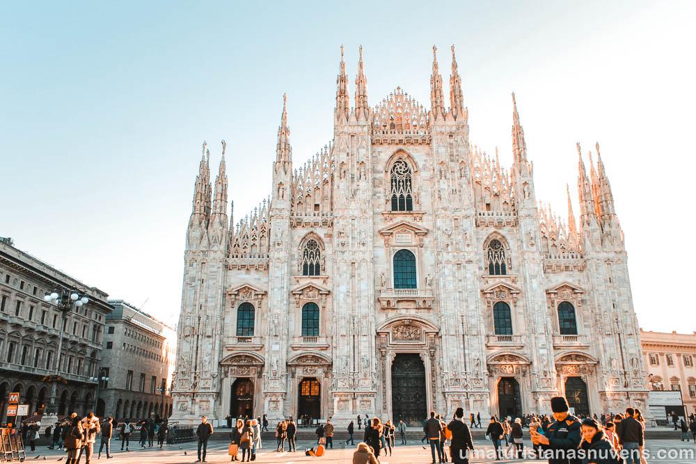 O que fazer em Milão em 1 dia - Duomo