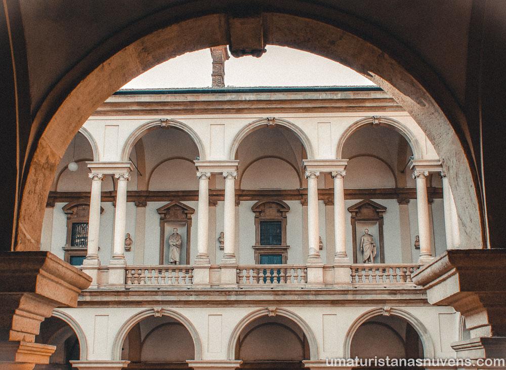 O que fazer em Milão em 1 dia - Pinacoteca de Brera