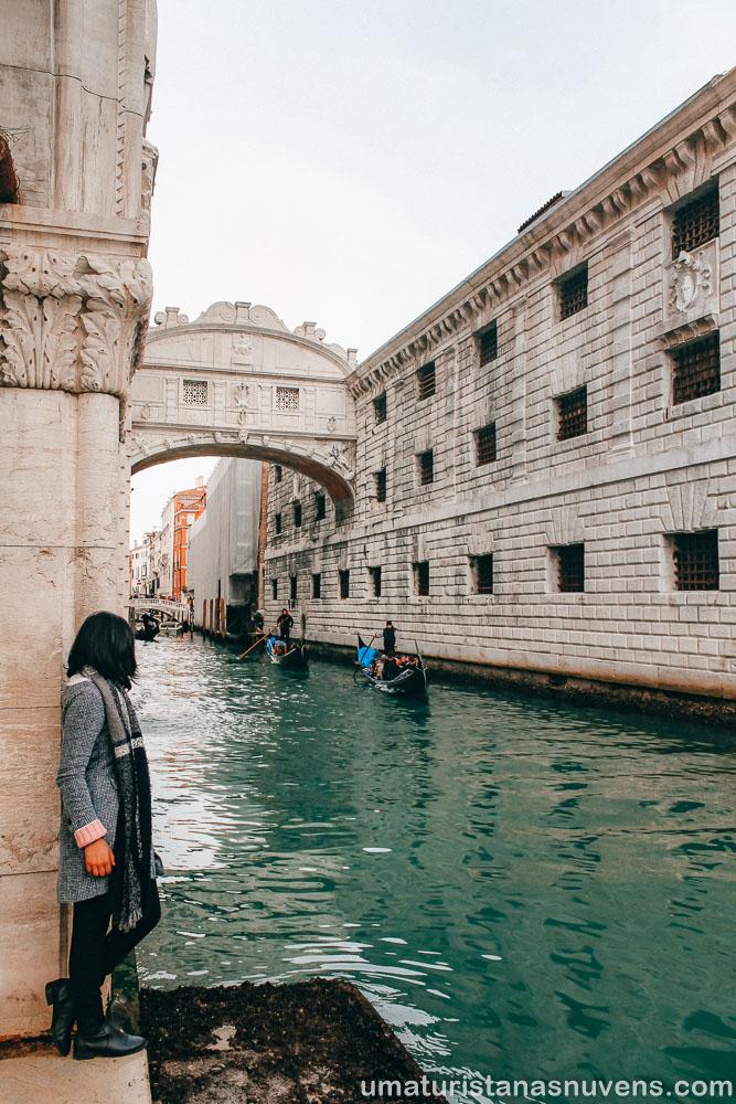O que fazer em Veneza - Ponte dos Suspiros