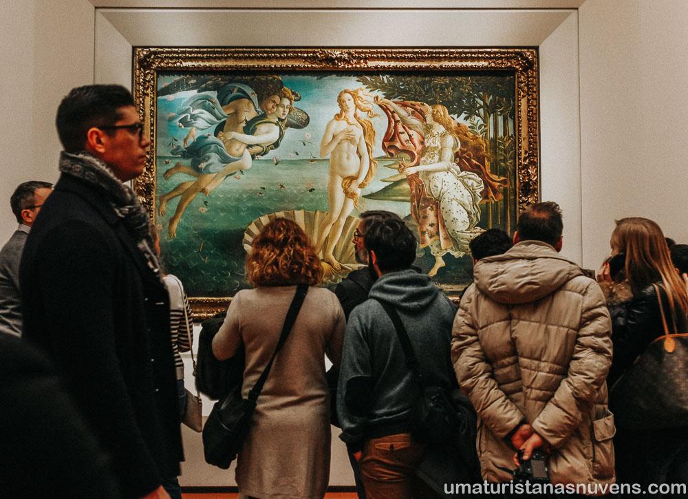 O que fazer em Florença - Galeria Uffizi