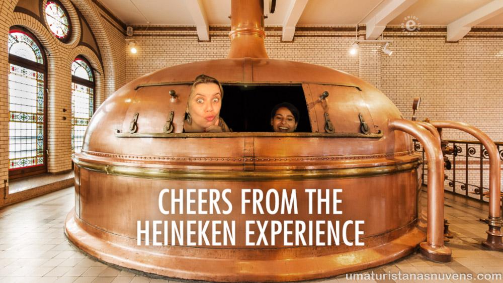 Heineken Experience em Amsterdam - Holanda