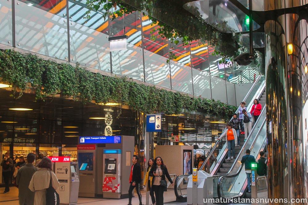 Estação Central de Amsterdam