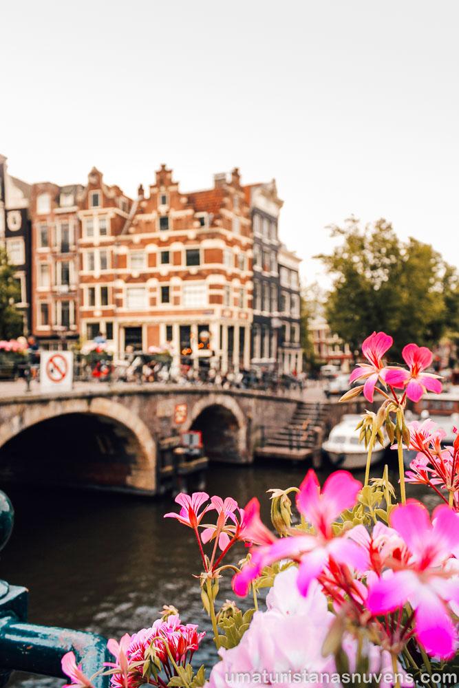 Café Papeneiland no bairro Jordaan em Amsterdam