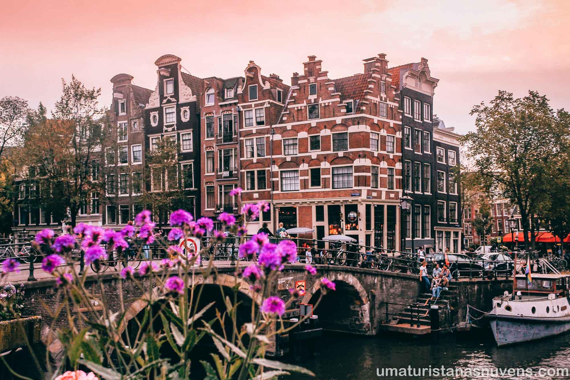 O que fazer no bairro Jordaan em Amsterdam - esquina mais linda