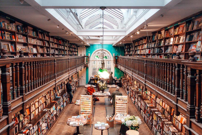 Livraria Daunt Books em Londres