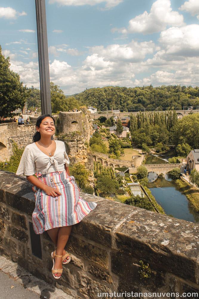 Motivos para visitar a Cidade de Luxemburgo Chemin de la Corniche