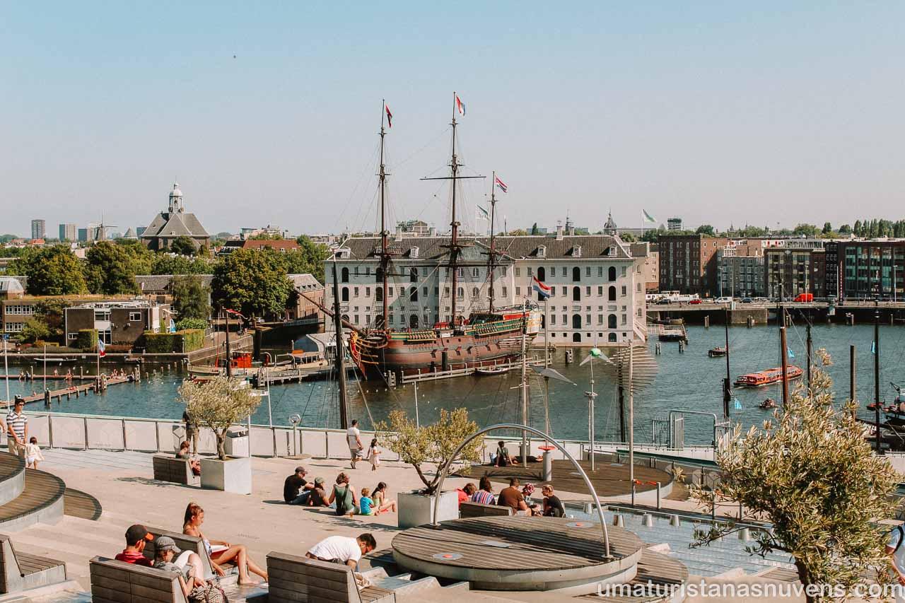 Passeios gratuitos em Amsterdam - Museu Nemo
