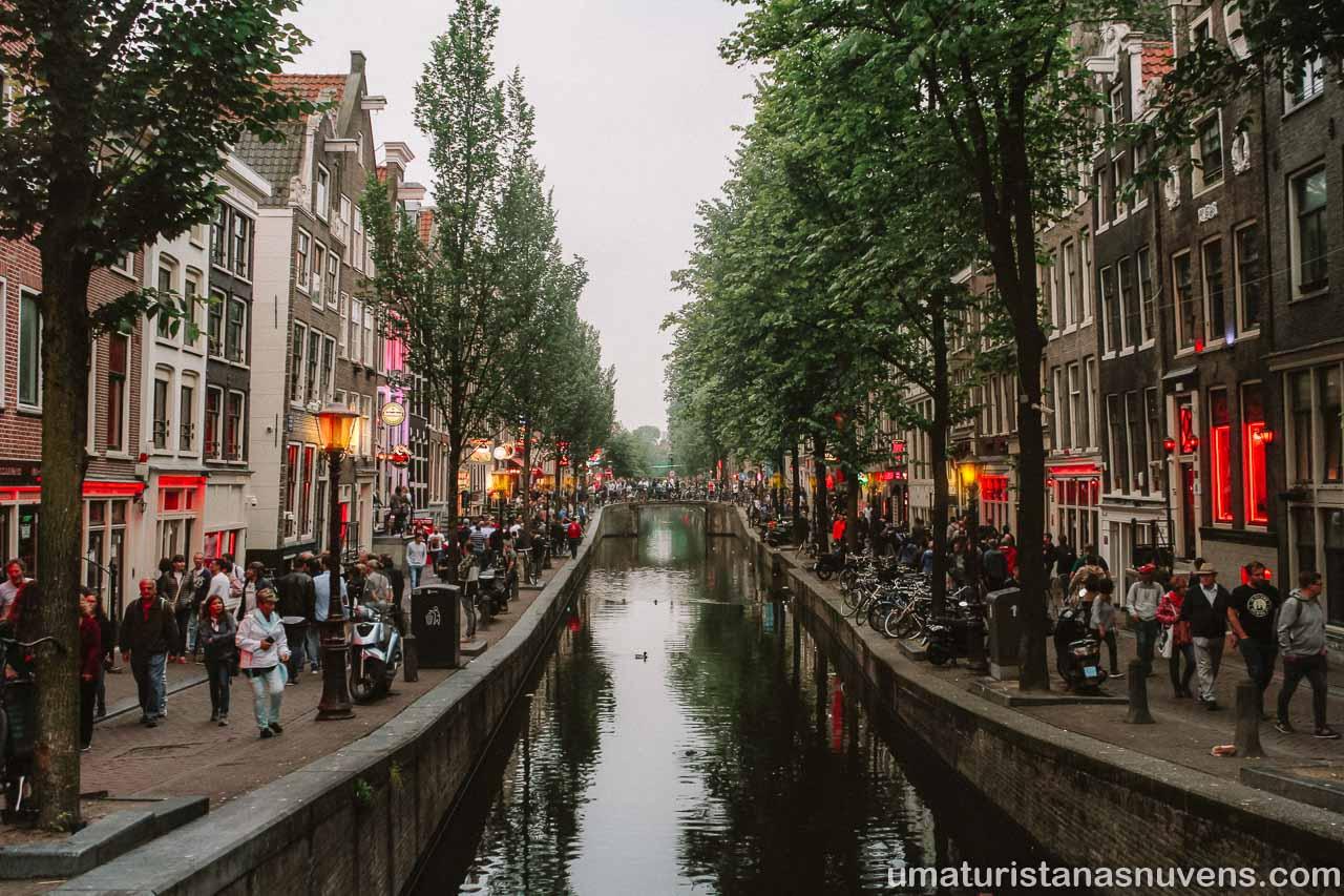 Passeios gratuitos em Amsterdam - Distrito da Luz Vermelha