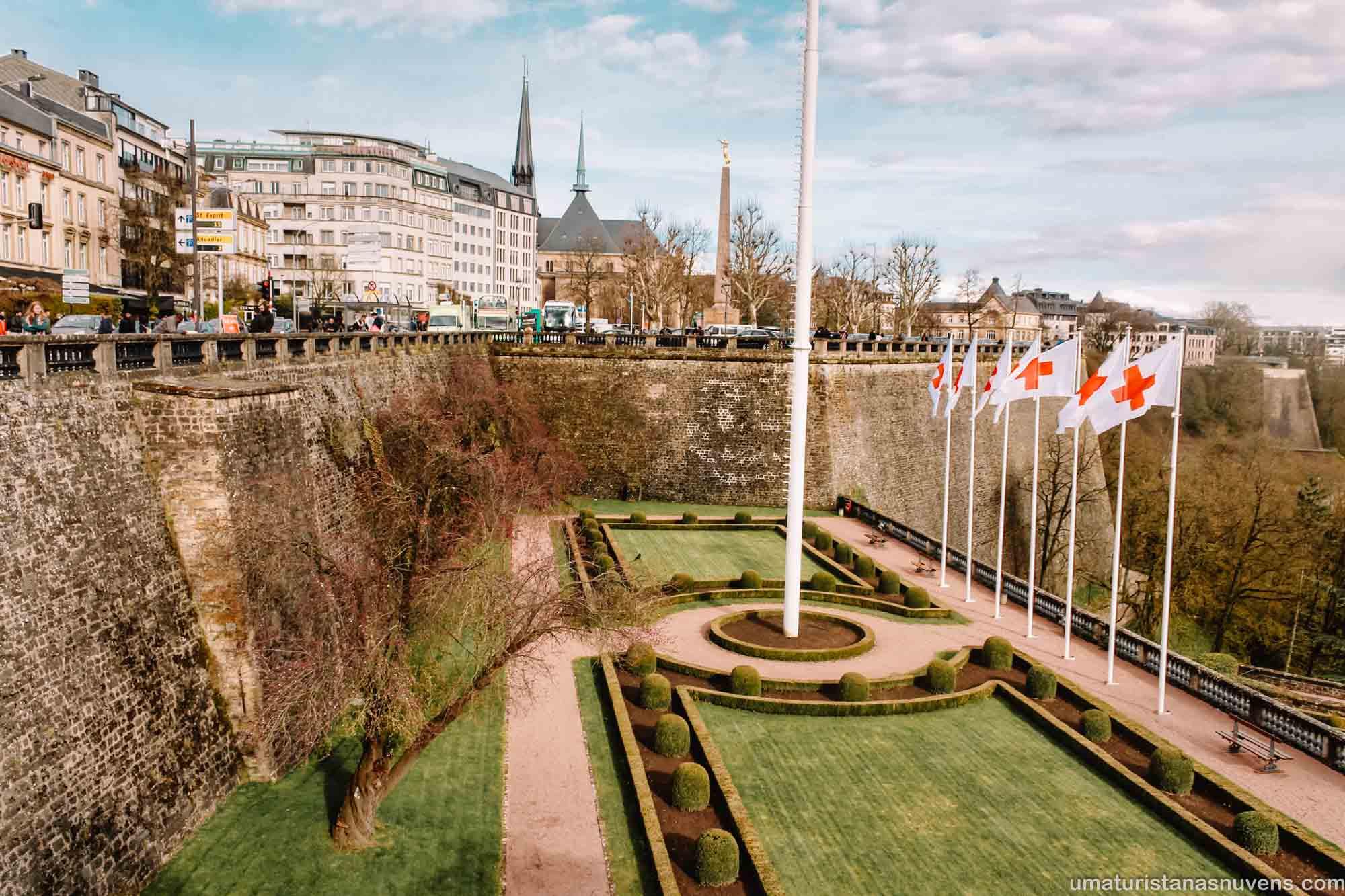 O melhor de Luxemburgo em 1 dia - o que fazer - Praça da Constituição